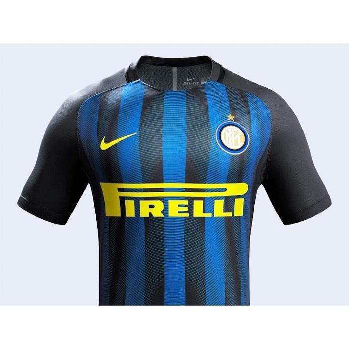 لباس اینتر میلان برای فصل 2017 2017 رونمایی نایک از لباس اول دو باشگاه ایتالیایی آ اس رم و ...