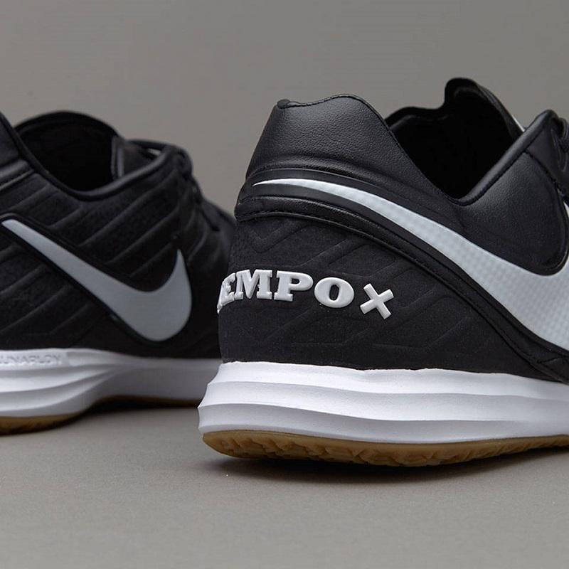 کفش فوتسال همراه با قیمت کفش فوتسال نایک تمپو ایکس پروکسیمو IN (سیاه.سفید) - سفارشی ...