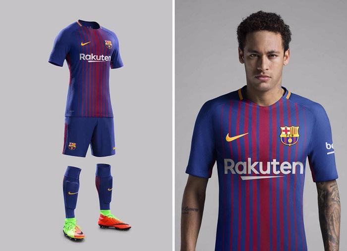 لباس اینتر میلان برای فصل 2017 2017 رونمایی نایک از لباس اول بارسلونا 18-2017 - فوتبال کالا