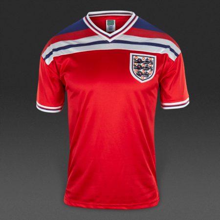 پیراهن دوم تیم ملی انگلیس جام جهانی 1982