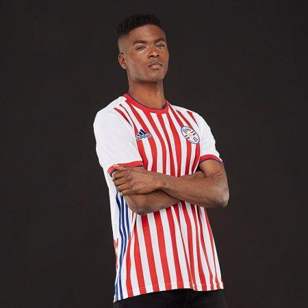 پیراهن اول تیم ملی پاراگوئه 2018