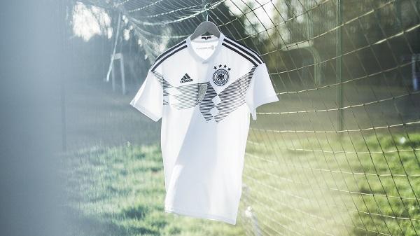 رونمایی آدیداس از لباس اول تیم ملی آلمان ویژه جام جهانی 2018 روسیه ، شکوه گذشته