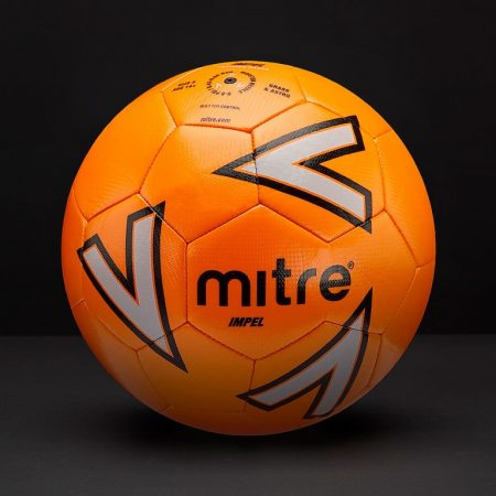 Mitre-Impel-Football-Orange-Silver-Black