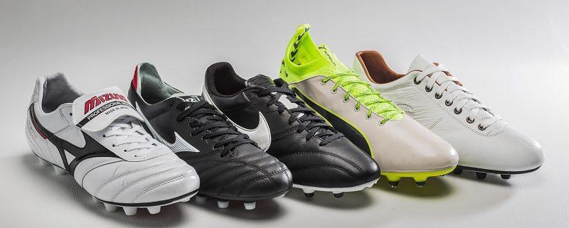 کفش فوتبال چرمی