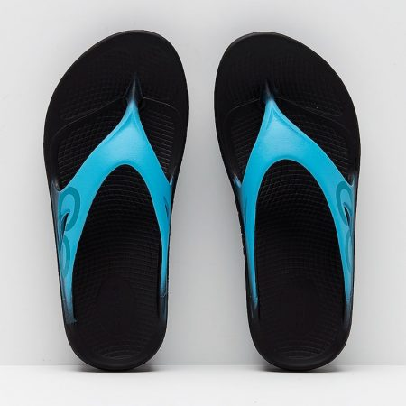 Oofos-OOriginal-Sport-Black-Aqua