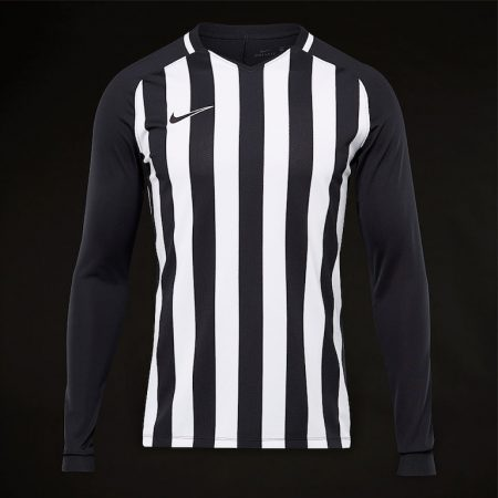 Nike-Striped-Division-LS-Jersey-Black-White