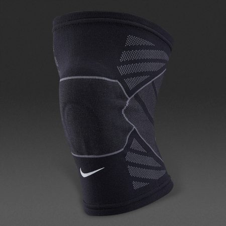 Nike-Advantage-Knitted-Knee-Sleeve-Protection-Knee-Support-Black