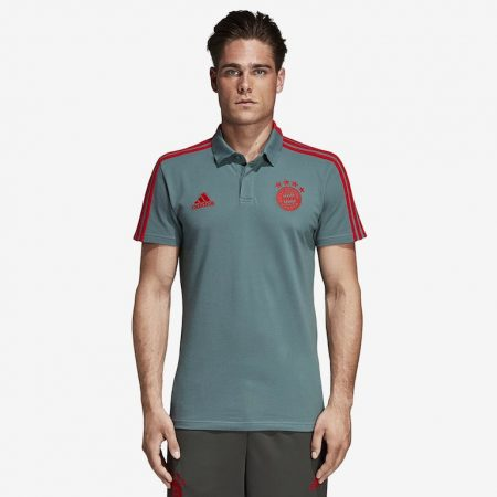 adidas-FC-Bayern-Munich-CO-Polo-Raw-Green-Red