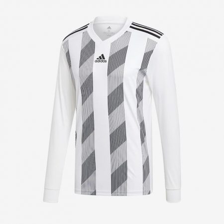 adidas-Striped-19-LS-Jersey-White-Black