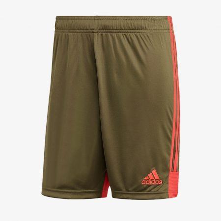 adidas-Tastigo-19-Shorts-Raw-Khaki-Shock-Red