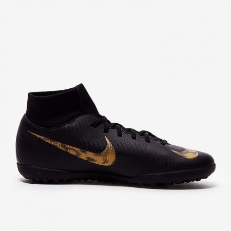 Nike-Mercurial-Superfly-VI-Club-TF-Black-Metallic-Gold