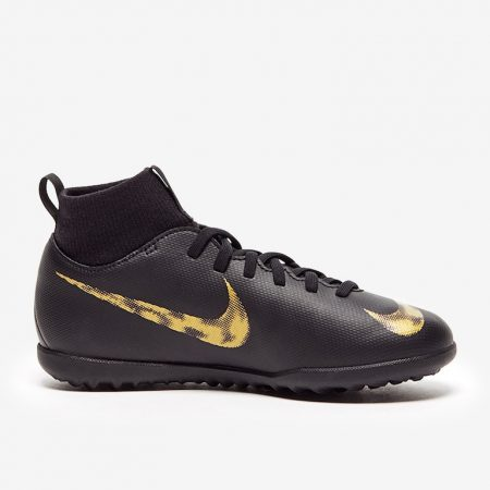 Nike-Kids-Mercurial-Superfly-VI-Club-TF-Black-Metallic-Gold