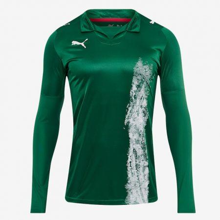 Puma-LS-Shirt-Green-White