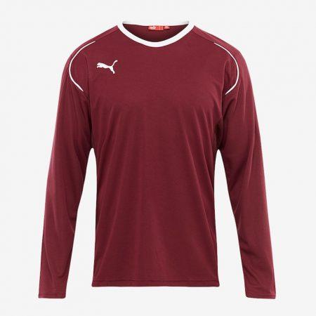 Puma-V508-LS-Shirt-Brown-White