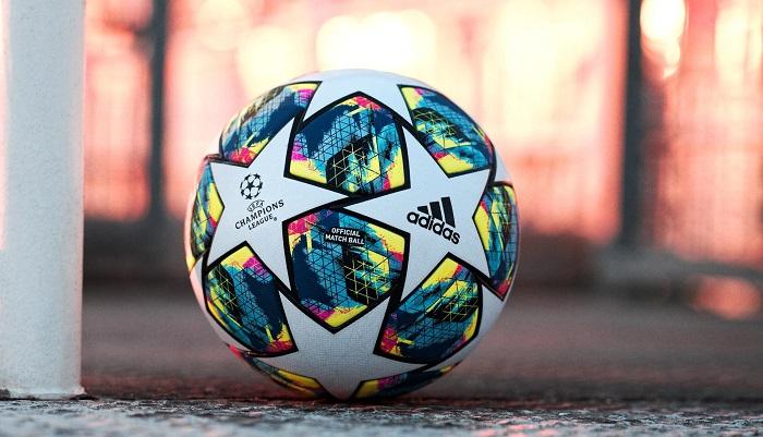 رنمایی آدیداس از توپ فوتبال لیگ قهرمانان اروپا 2019.20