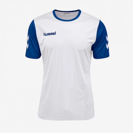 Hummel-Core-Hybrid-Match-Jersey-White-True-Blue