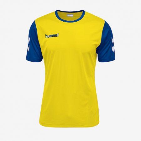 Hummel-Core-Hybrid-Match-Jersey-Sports-Yellow-Blue