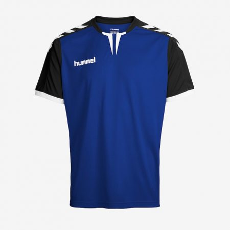 Hummel-Core-SS-Jersey-True-Blue-Black
