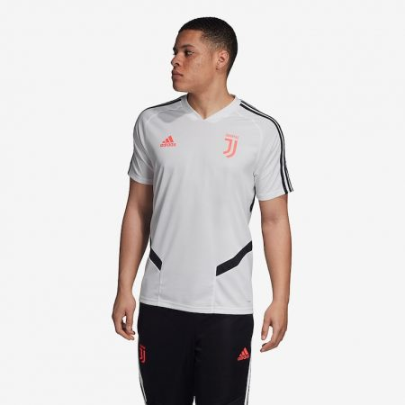 adidas-Juventus-2019-20-Training-Shirt-White-Black