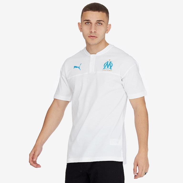 Puma-Marseille-19-20-Casuals-Polo-Puma-White-Bleu