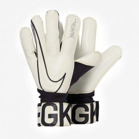 Nike-GK-Grip-3-Mens-GK-Gloves-Hybrid-Roll-Flat-White-Black