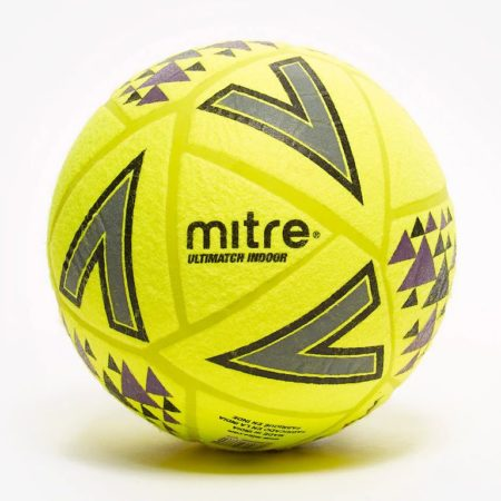 Mitre-Ultimatch-Indoor-Footballs-Indoor-Yellow-Black