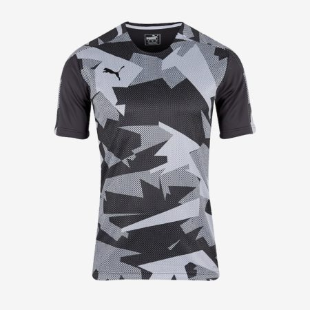Puma-Training-Jersey-Black-White
