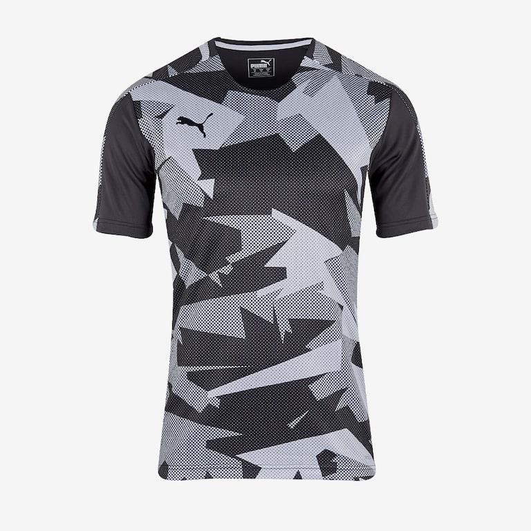 Puma-Training-Jersey-Black-White