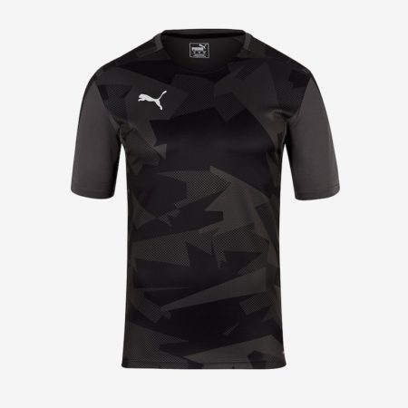 Puma-Training-Jersey-Black-Grey