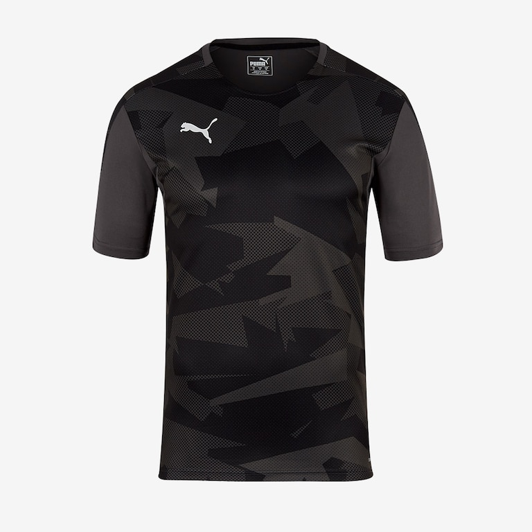Puma-Training-Jersey-Black-Grey