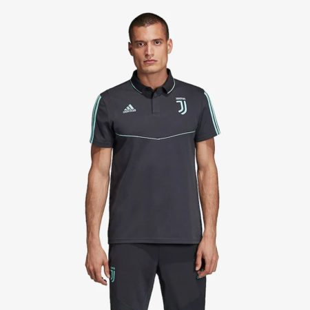 adidas-Juventus-2019-20-EU-CO-Polo-Dark-Grey