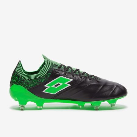 Lotto-Stadio-100-II-SGX-Black-White-Spring-Green