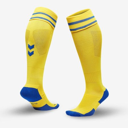 Hummel-Element-Football-Sock-Sports-Yellow-True-Blue