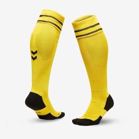 Hummel-Element-Football-Sock-Sports-Yellow-Blac