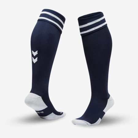 Hummel-Element-Football-Sock-Marine-White