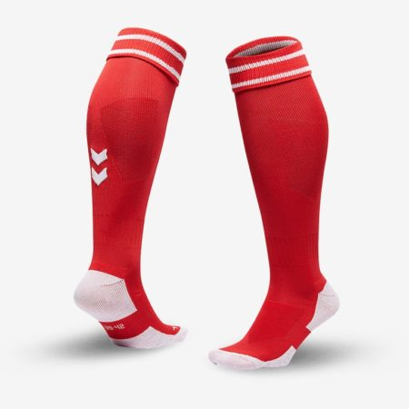 Hummel-Element-Football-Sock-True-Red-White