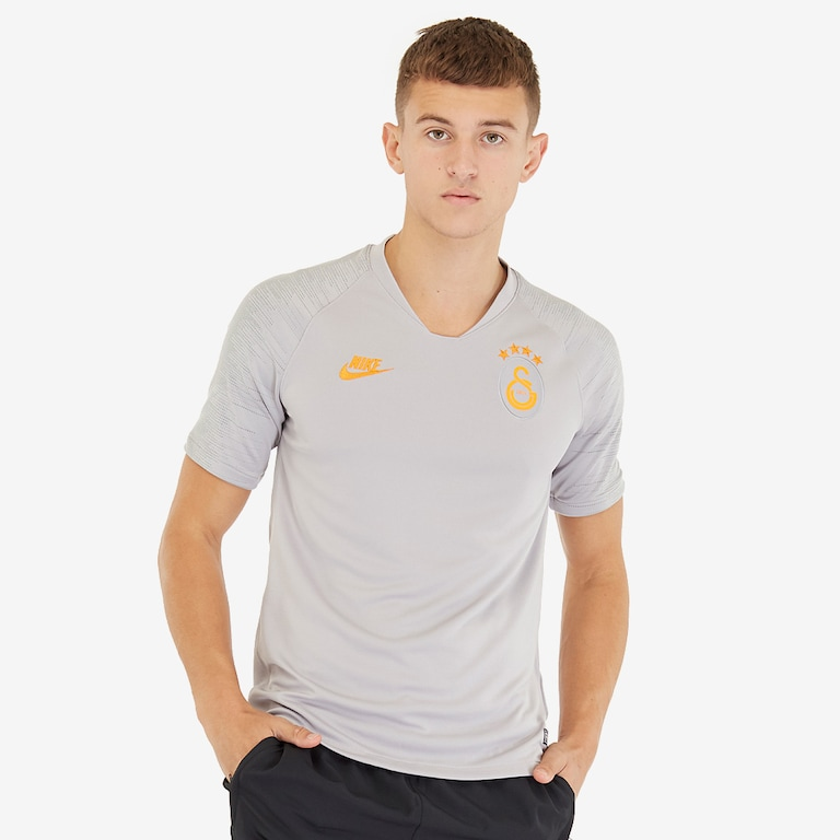 Nike-Galatasaray-2019-20-Strike-Top-SS-Atmosphere-Grey-Vivid-Orange